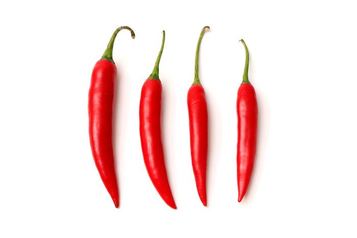 red spicy peppers